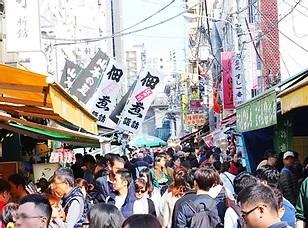 Outer Fishmarket at Tsukiji