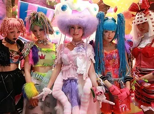 Kawaii Monster Cafe at Harajuku
